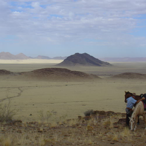 desert homestead, Abbie Woods tells us about her trip to The Desert Homestead in Namibia, In The Saddle