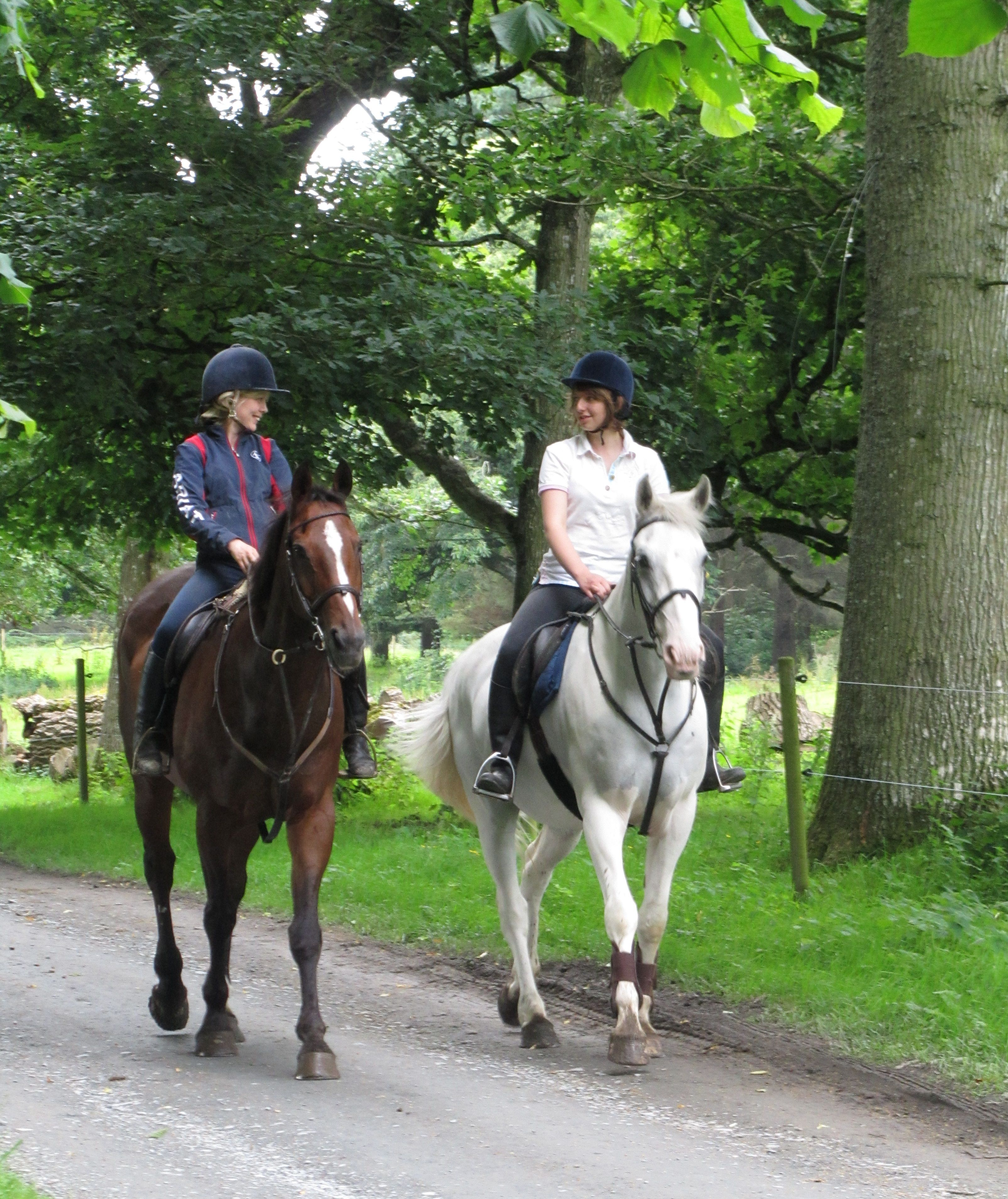 Pic 3 - Jenny and client Clinton and Castle Leslie Blue