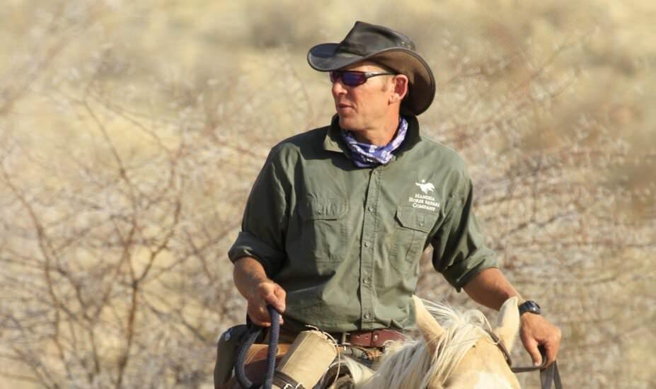 namibia horse safari