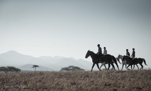 kenya on horseback