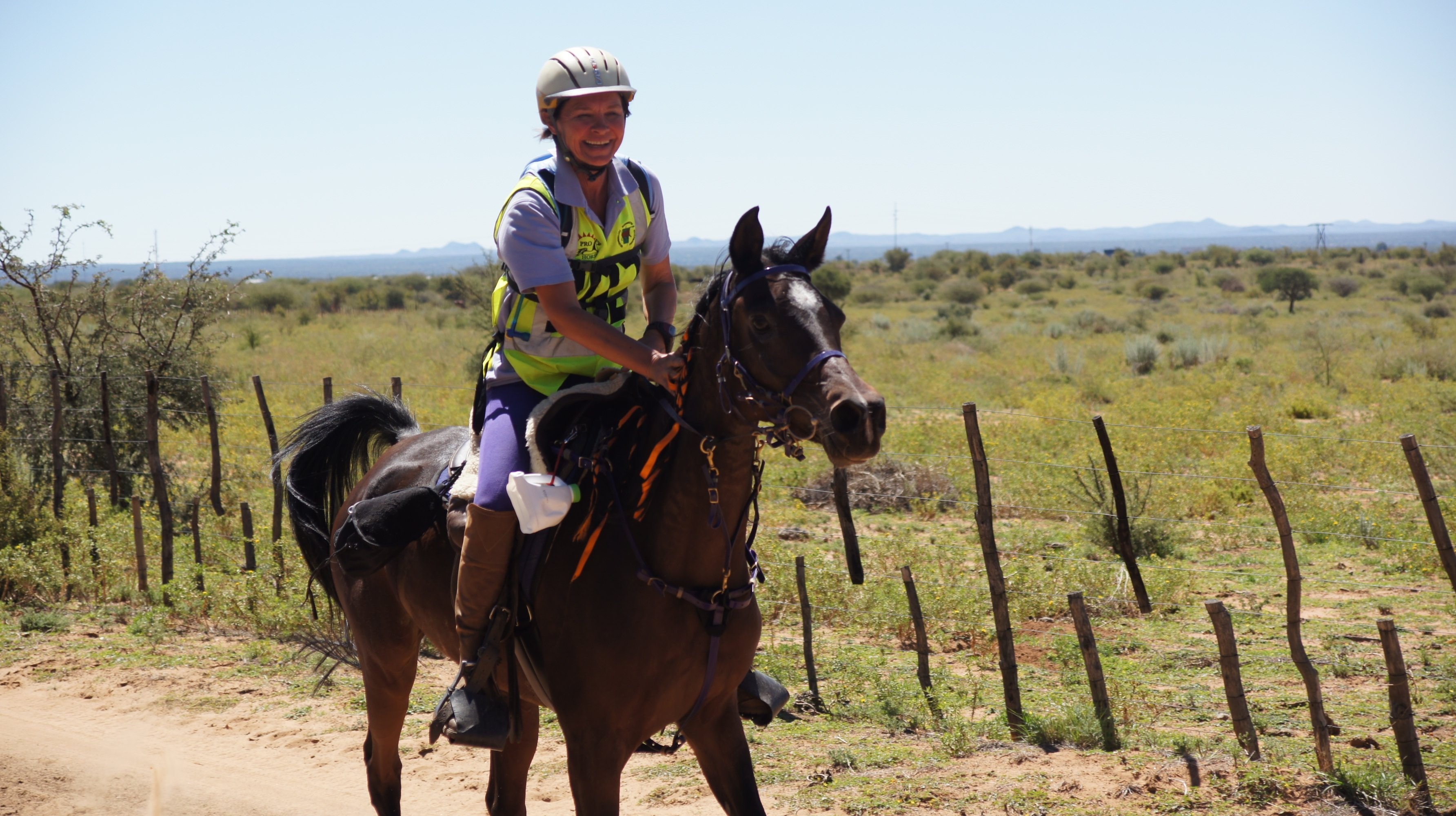 endurance riding in namibia