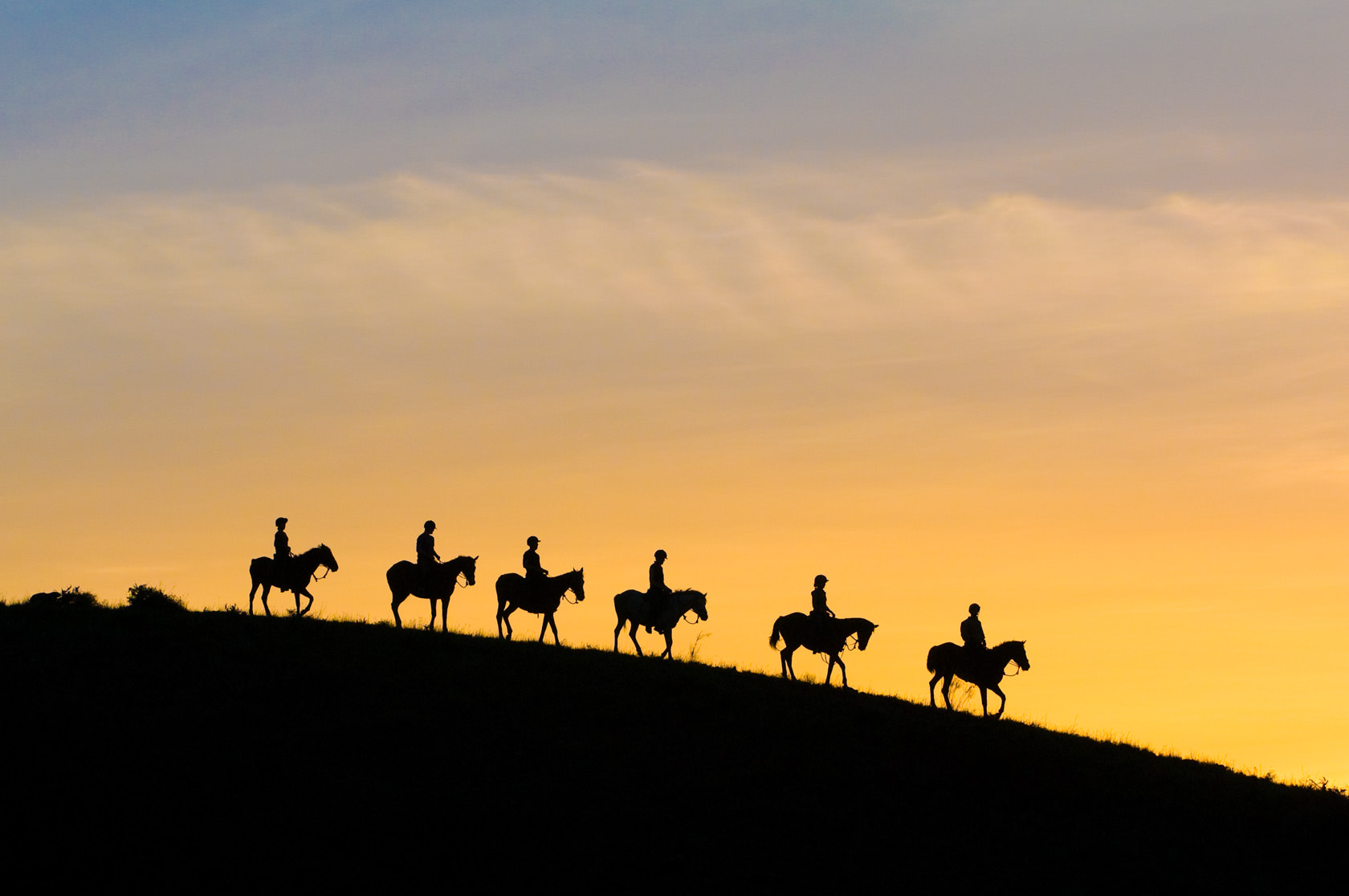 sundowners on horseback