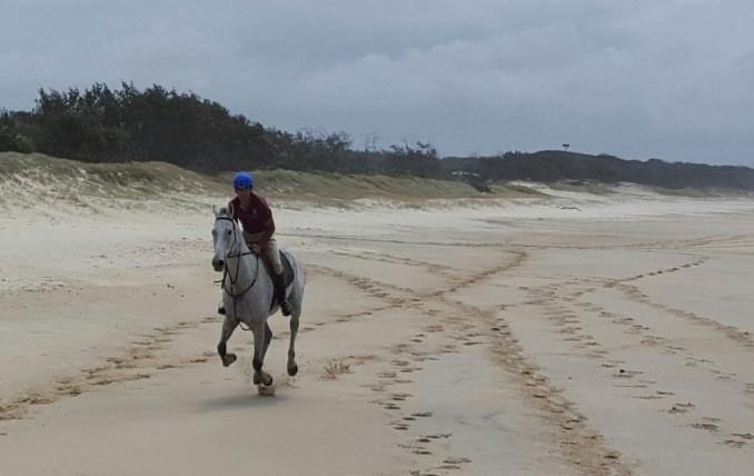 Fantastic beach riding