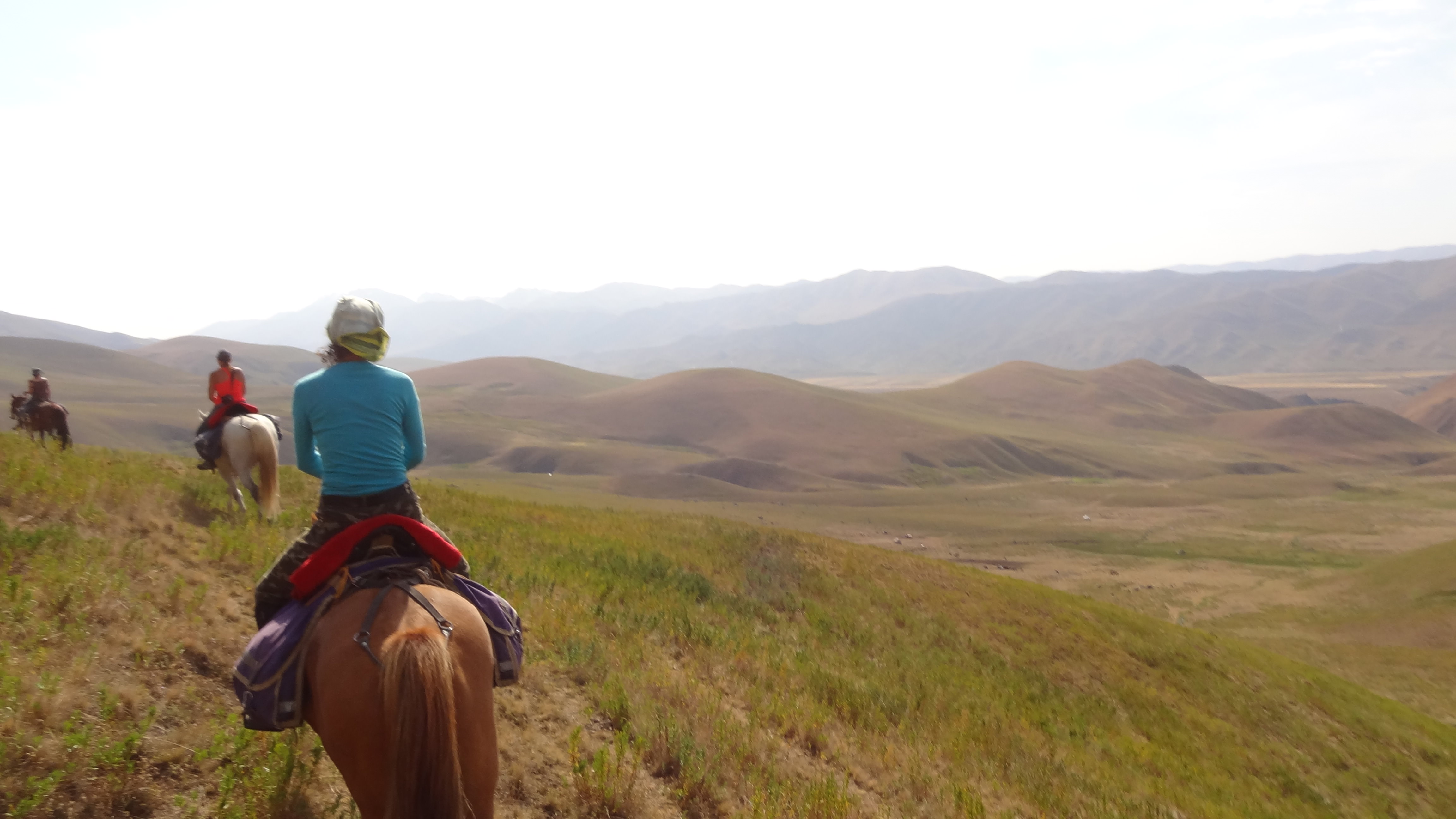 riding in kyrgyzstan