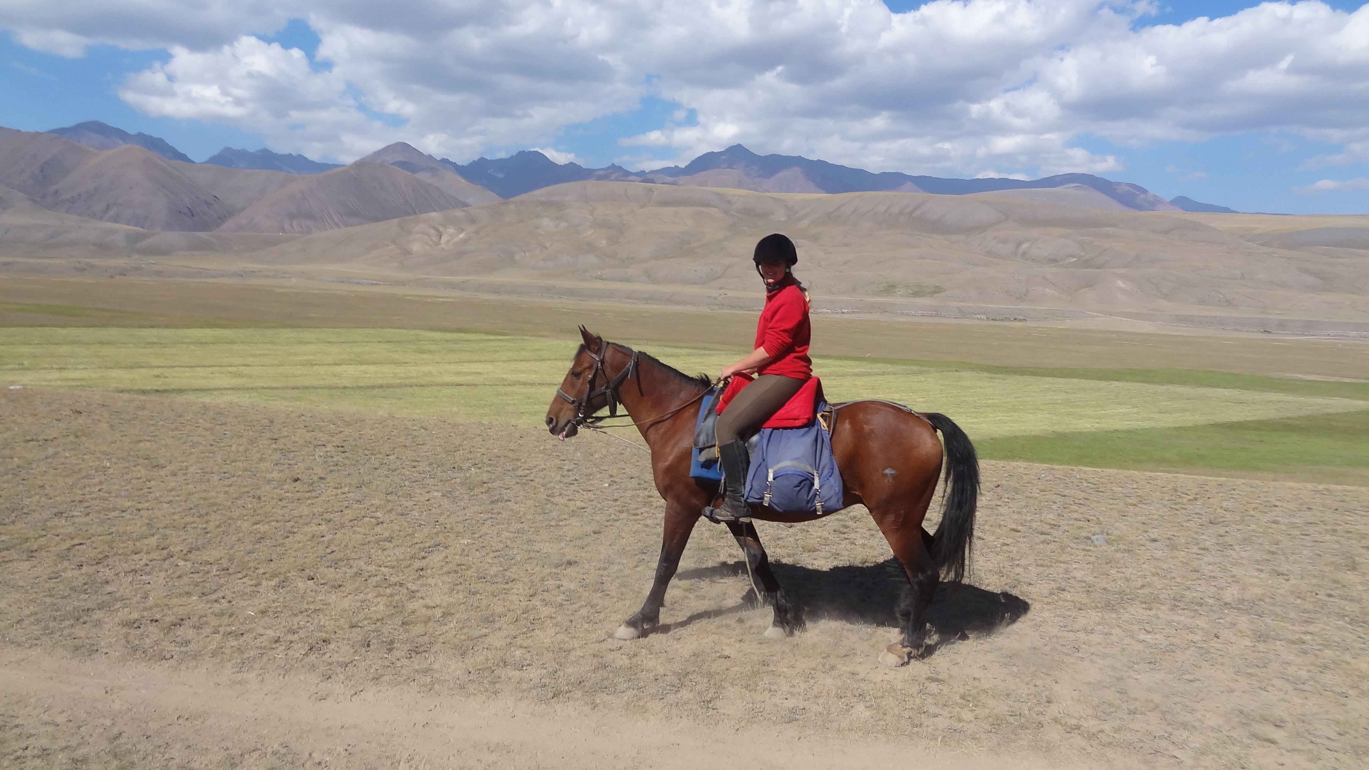 horseback in kyrgyzstan