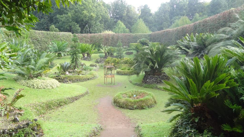 Botanical gardens at Furnas