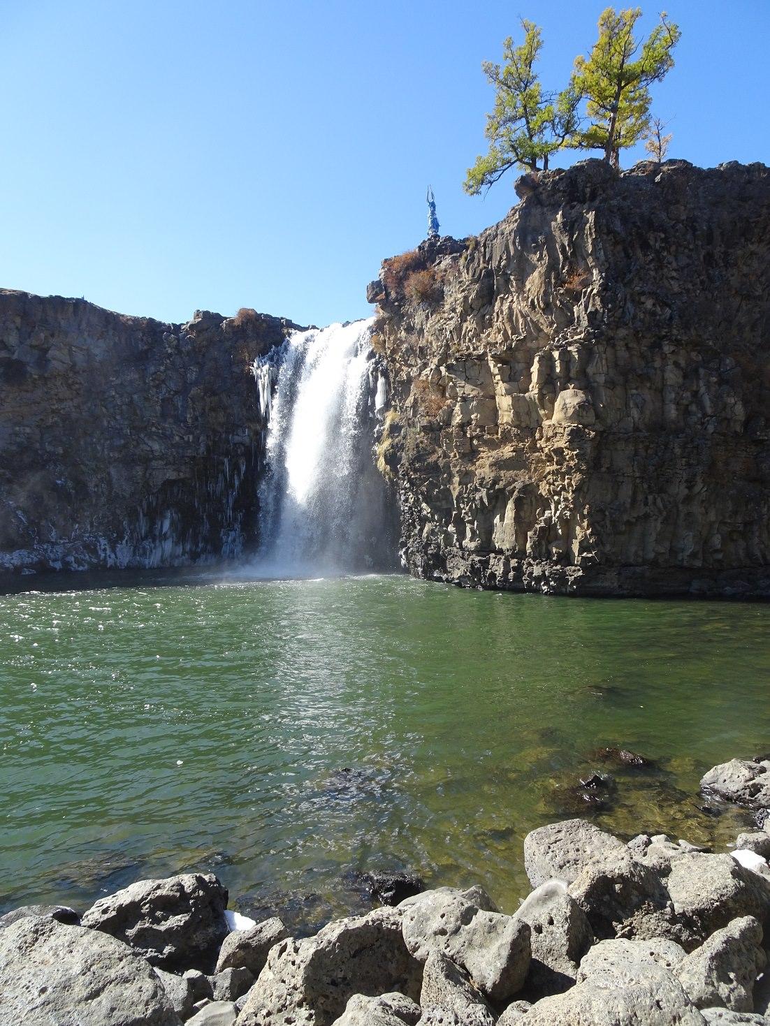 orkhon falls in mongolia