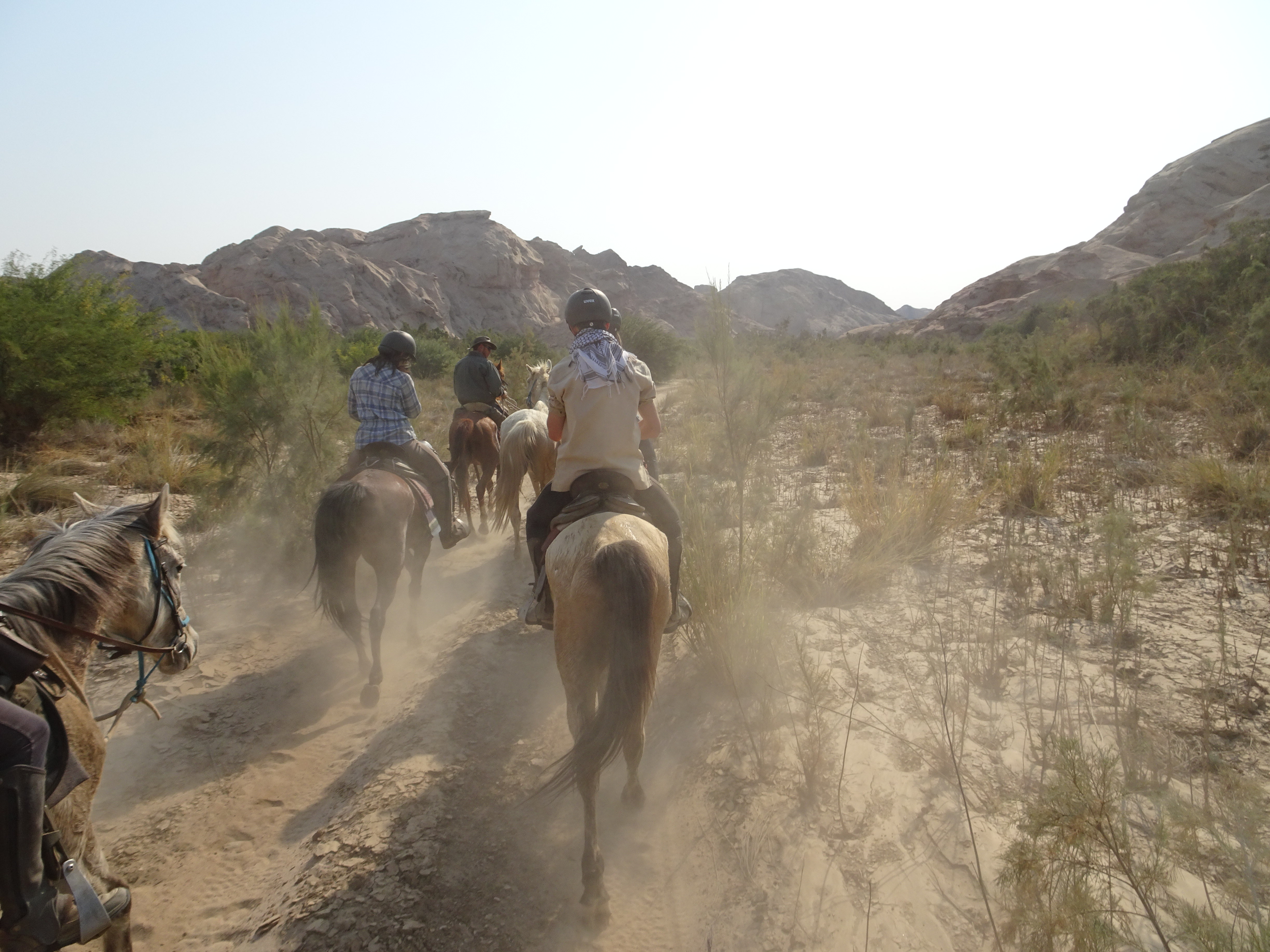 PIC 16 Riding up the Swakop River