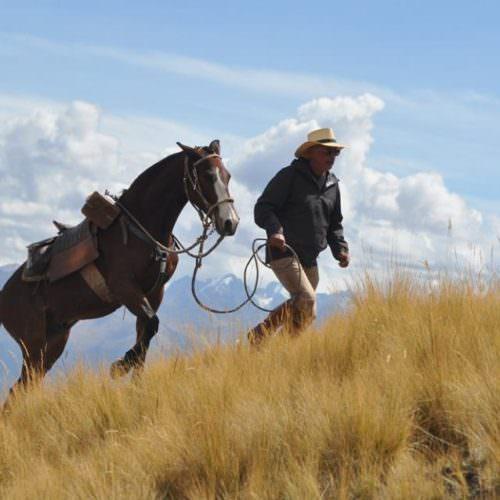 Riding in Peru