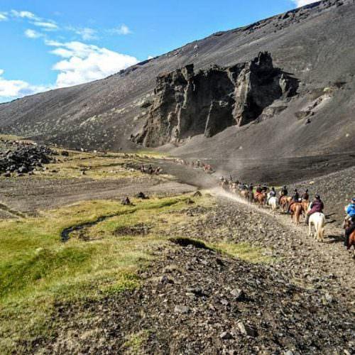 Snæfellsnes mountain riding