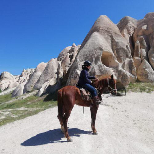 Horseriding in Cappadocia, Turkey