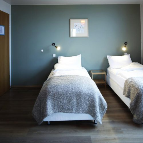Twin room accommodation
