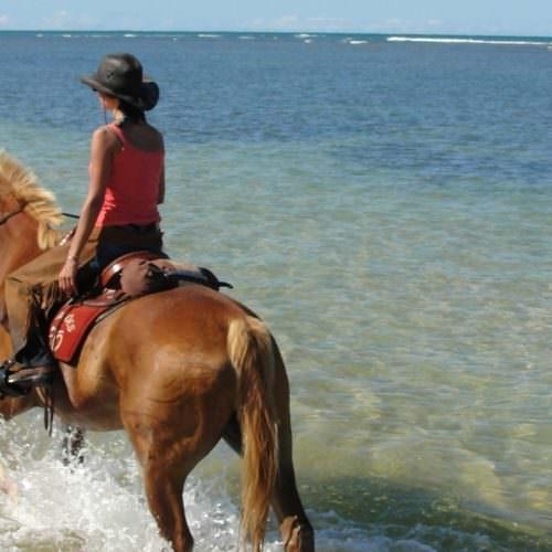Riding on the beaches of Bahia