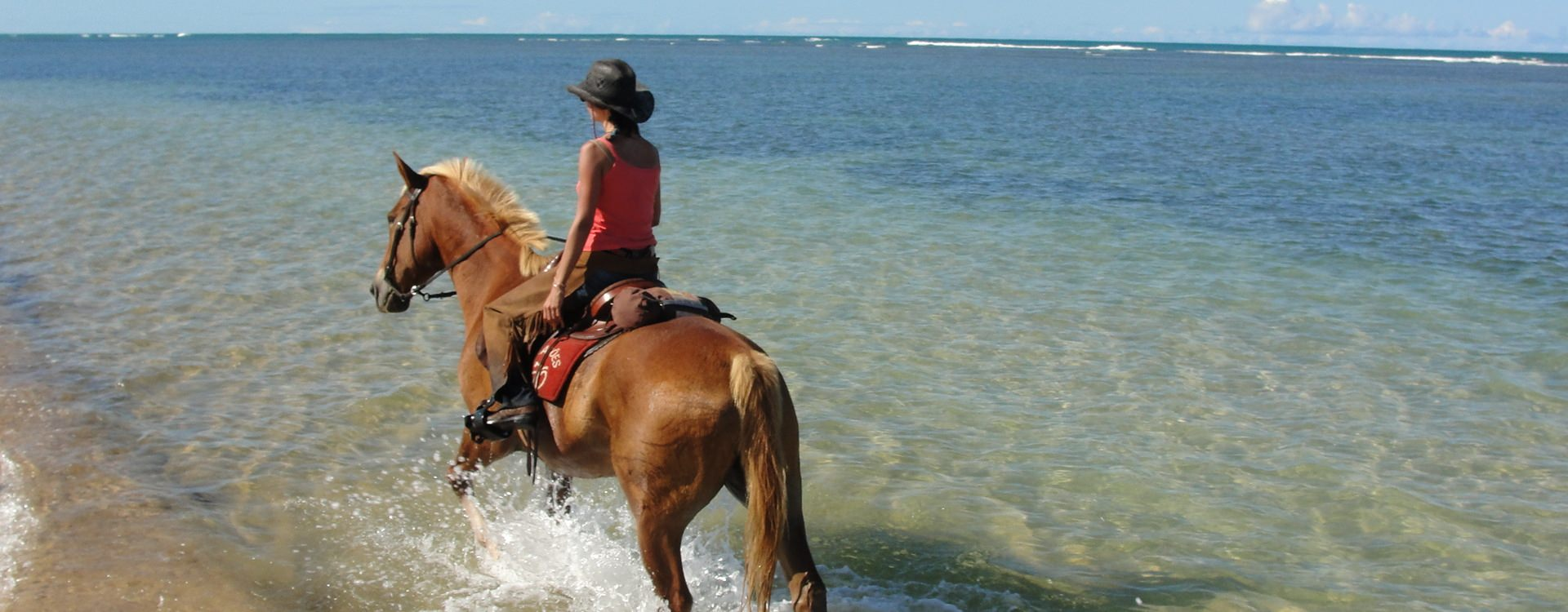 Riding on the beaches of Bahia