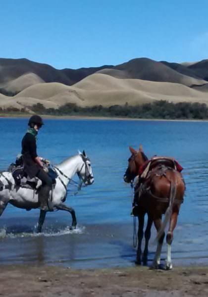 Riding in the Ecuadorian Andes