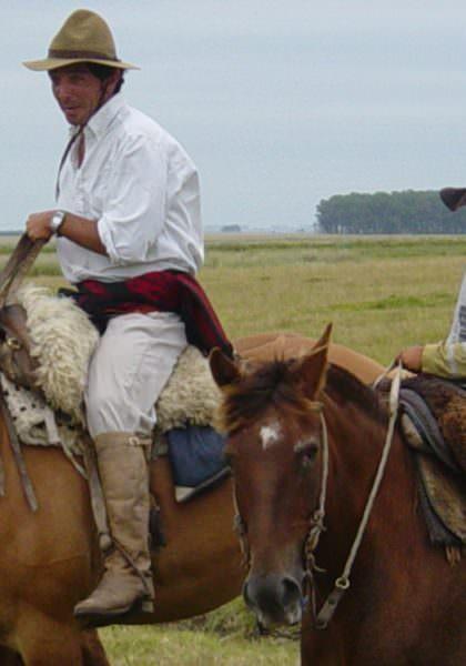 Gauchos in Uruguay