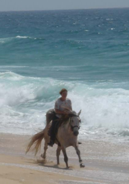 Riding on the coast of Portugal