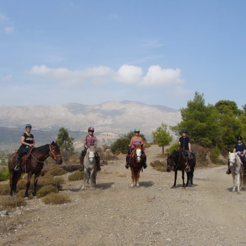 Riding in Rhodes