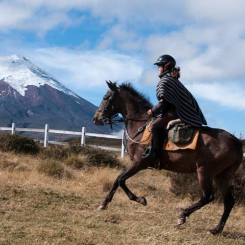 Riding in the Andes, Cotapaxi, Ecuador