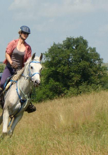 Riding in Romania