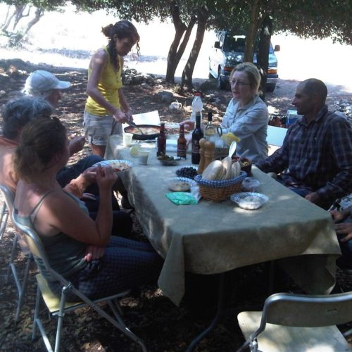 Israel picnic