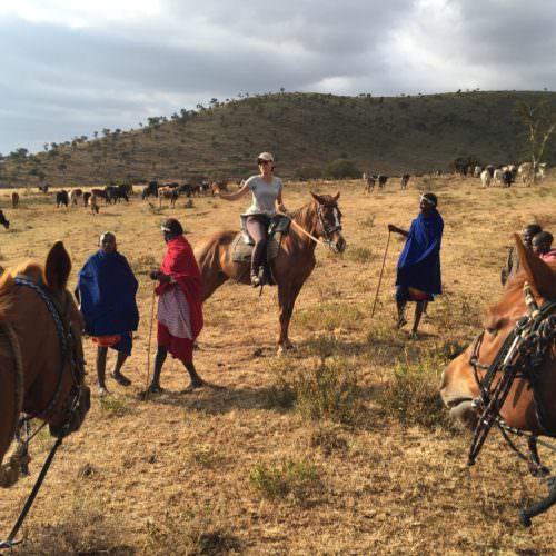 Maasia herders in Tanzania