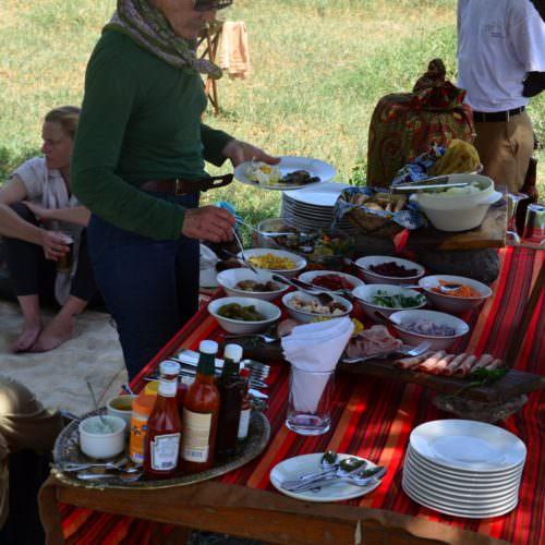 Kaskazi Tanzania lunch
