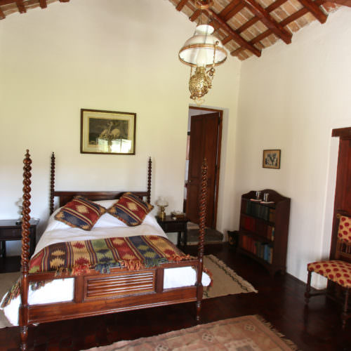 Comfortable double room at Estancia Los Potreros
