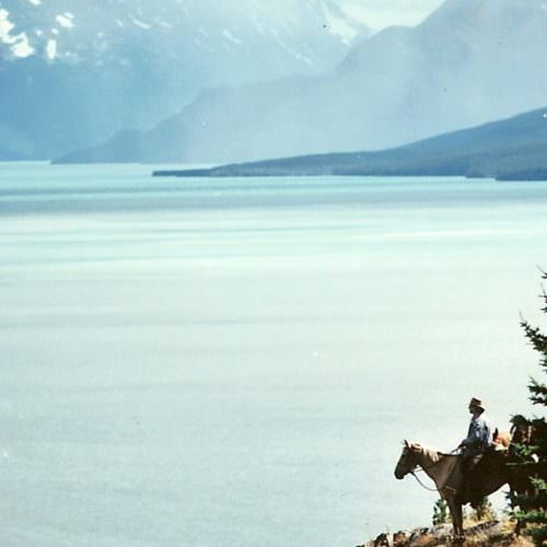 Riding at Tsylos Lodge, British Columbia