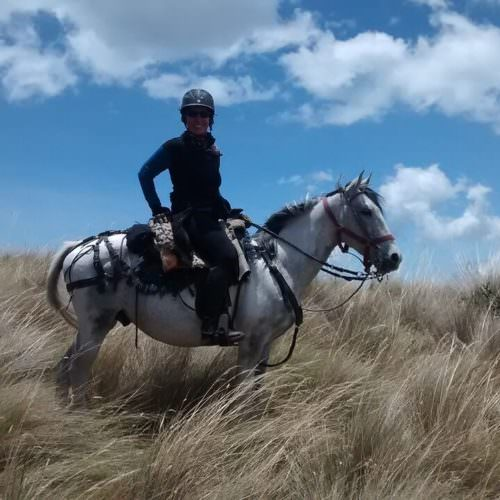 Riding in high paramo