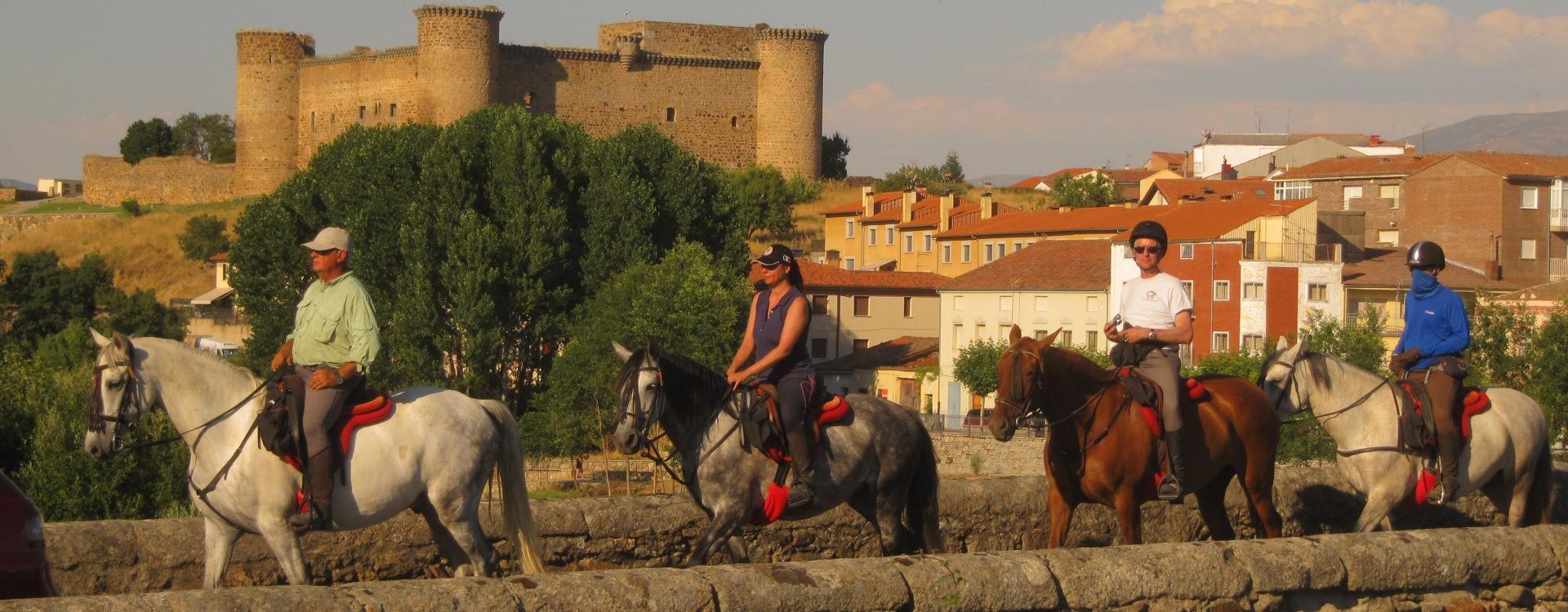 Riding in the Sierra de Gredos