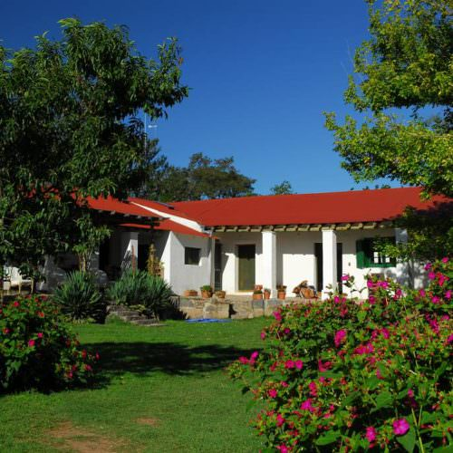 Main estancia building, Los Potreros