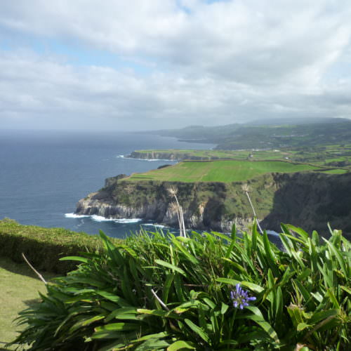 Azores coastline. Fantastic Ocean views.