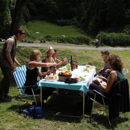 Riding Holidays on the Azores. Picnic lunches