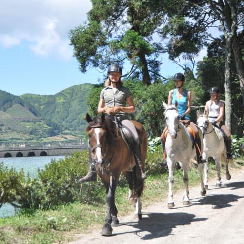 Sunny riding holidays - Azores.