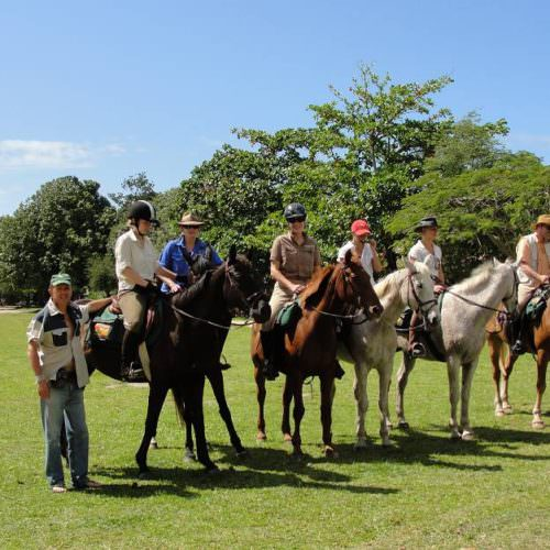 Riding Holidays in Brazil. Beach riding in Bahia. Horses and riders.