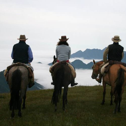 Riding Holidays in Brazil. Trail riding vacation. Horses and beautiful views