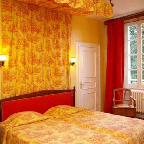 Room at Chateau de I'Isle