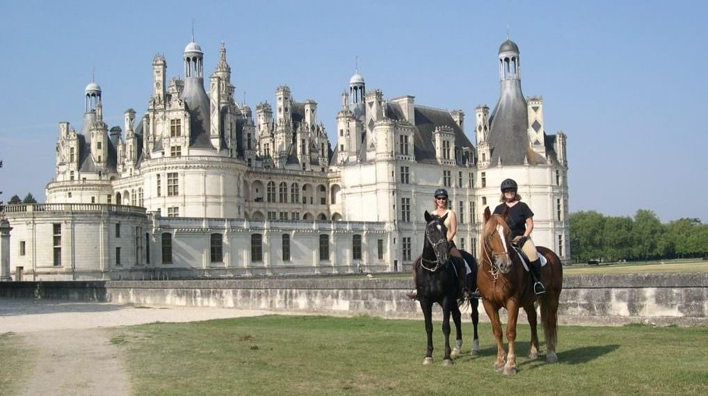 chateaux of the loire - rides