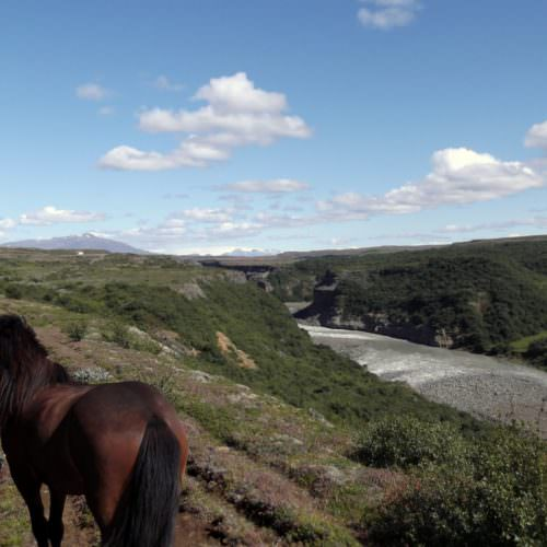 Iceland river riding