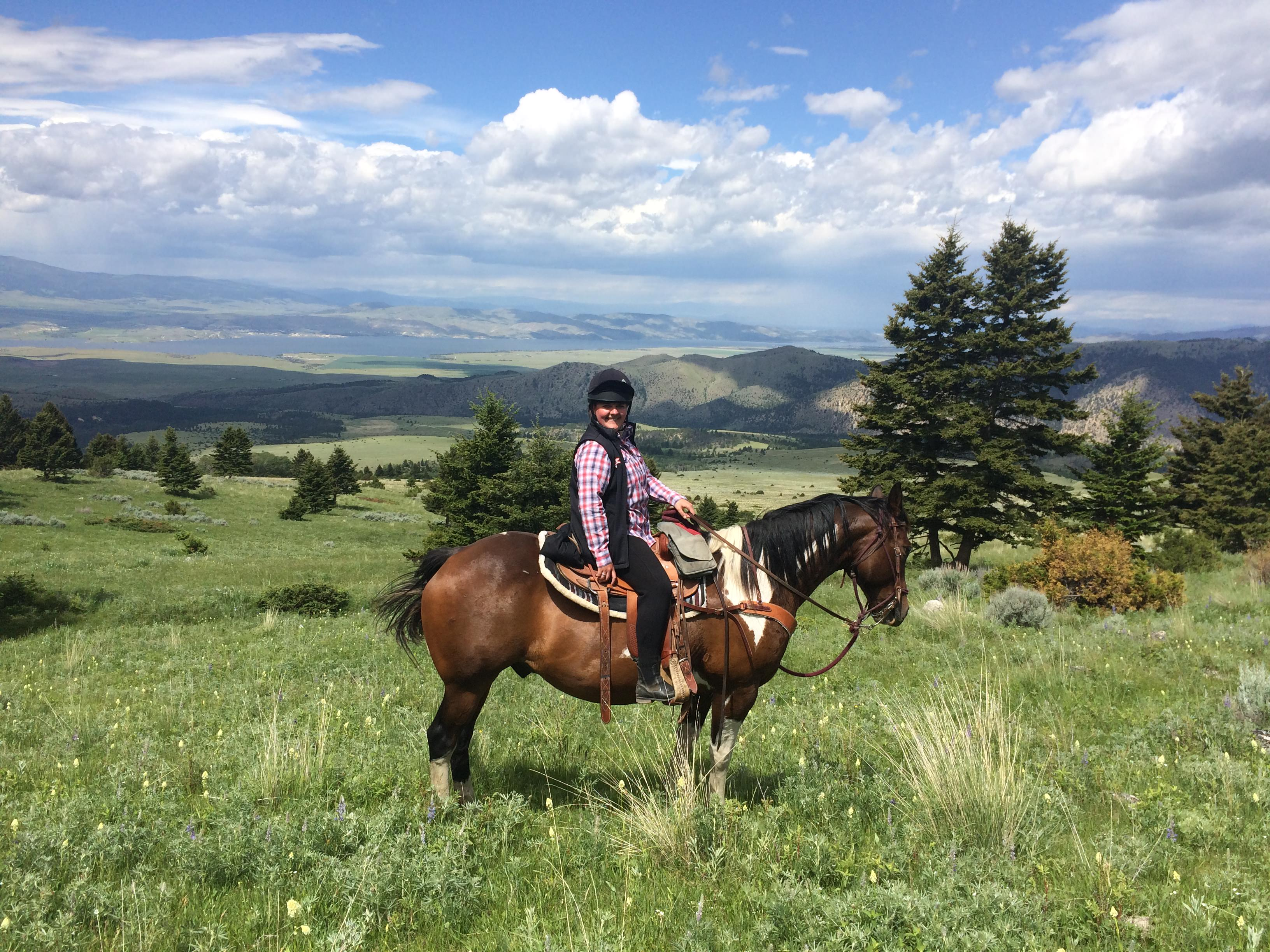 western riding in montana
