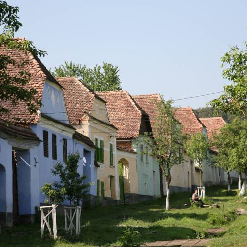 Riding holidays in Transylvania with In The Saddle. Houses.