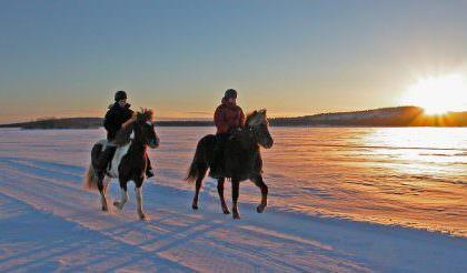 Sweden - winter riding