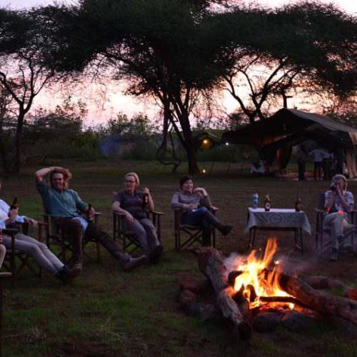 Tanzania sundowners