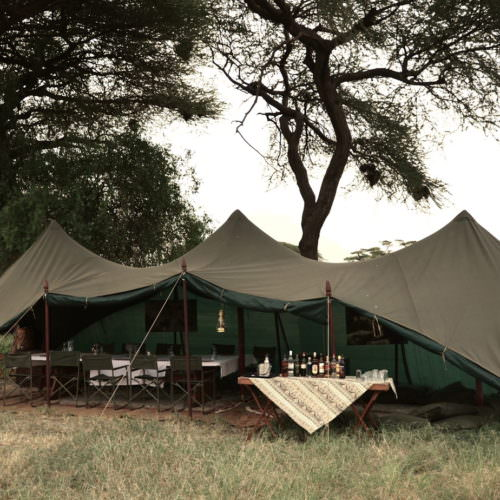 Tanzania glamping
