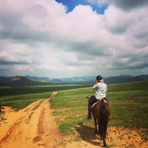 Amazing scenery in Mongolia