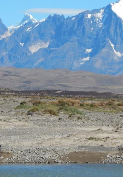 Riding in Torres del Paine, Patagonia
