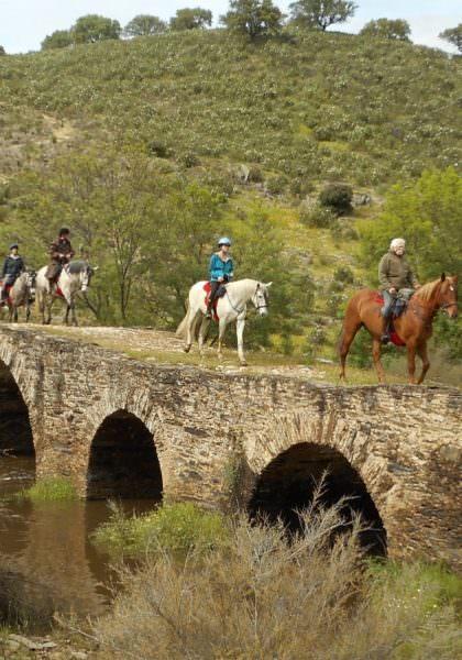 Riding in Extremadura