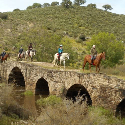 Riding in Extremadura