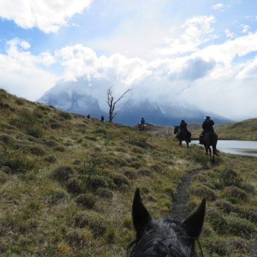 Trail riding in Chile